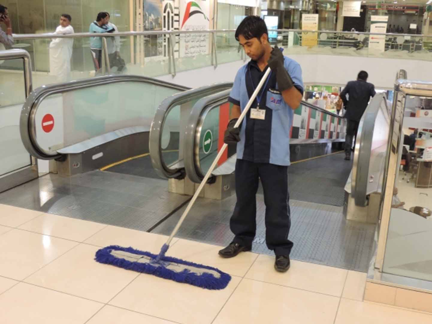 Our Cleaner do all kind of building interior cleaning in dubai