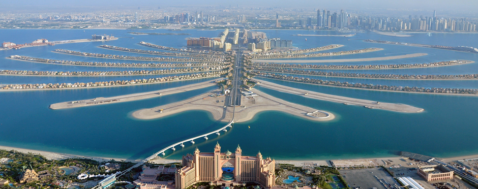 Palm Jumeirah Dubai View